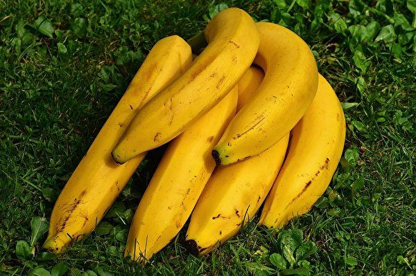 香蕉。(Alexandra Stockmar/CC/Pixabay)
