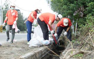 響應環境清潔活動 台塑六輕率百名員工參加