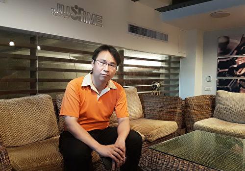 """胜泰卫材股份有限公司行销经理张凯祥表示:""""客户有需求,JUSTIME整体团队就想办法去配合空间条件解决问题,让客户满意。""""(图:胜泰卫材提供)"""