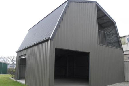 车库及仓库成品示图。(Aussie Made Garages and Barns提供)