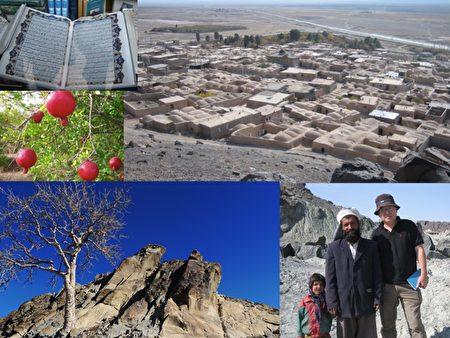 钟孙霖前往伊朗跑野外地质调查,发觉当地民众十分友善。(资料来源/钟孙霖提供)