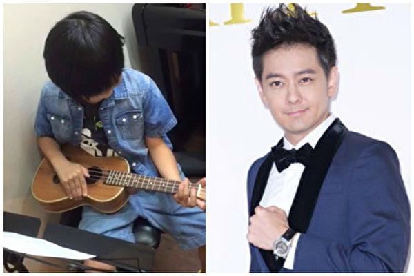 8岁Kimi为林志颖庆生 小吉他弹生日歌好暖心