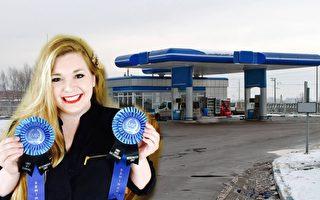 她在加油站看到2個可憐女孩 之後發現垂淚事實