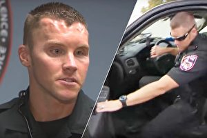 巡警发现汽车灯故障 拦截检查时发现3个孩子令人催泪