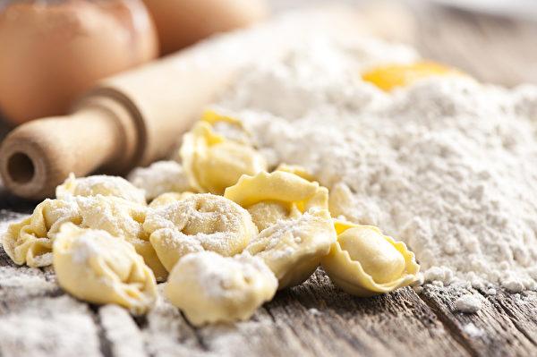 意式馄饨Tortellini。(Shutterstock)