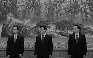 现在二张一刘是否要开始担心,周永康十八大退休时有他们三名常委都保不住,十九大后谁来保他们下台不出事?(zhao lintao/Getty Images)