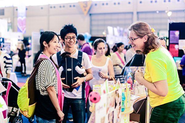 新手父母在PBC孕婴展上可优惠购买各类品牌产品。(PBC Expo提供)