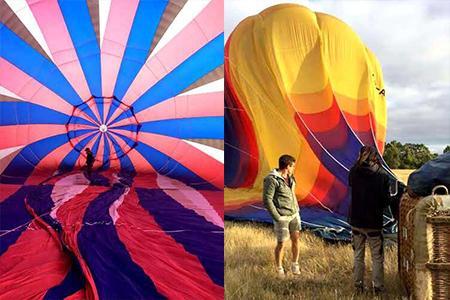 乘坐热气球看日出,是每个人一生都该享受的一次经历。(Go Wild提供)