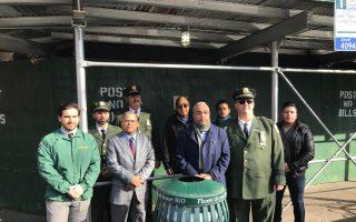 罗斯福大道及周边 增170个垃圾桶