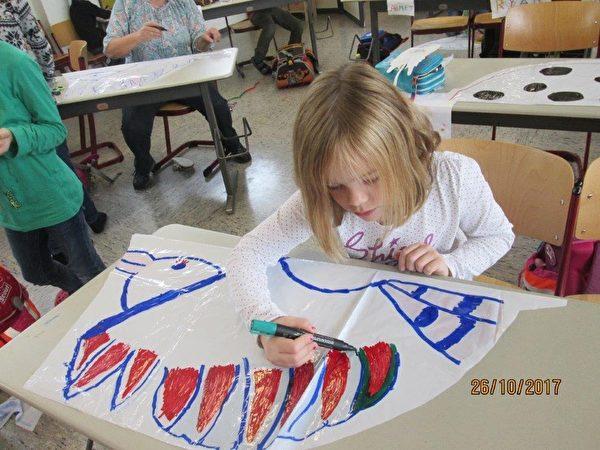台国宝艺师女儿在德国 推广风筝做国民外交