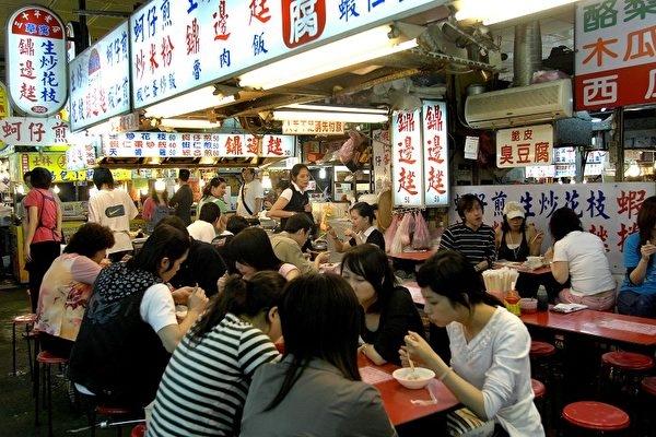 台灣街頭小食與夜市的形成 美食的足跡
