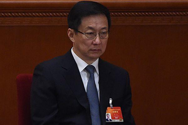 韓正被調離 上海官場現恐慌