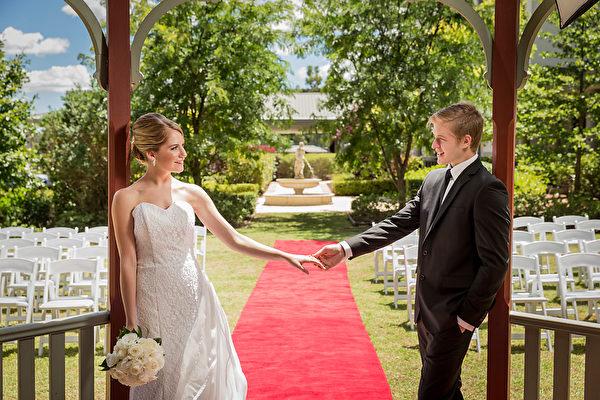 Novotel Sydney Norwest酒店的花园婚礼(商家提供)
