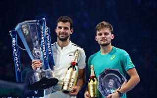 男子网坛年终总决赛 迪米特洛夫首次登顶
