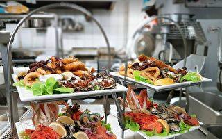 在悉尼的风水宝地享受海鲜自助大餐