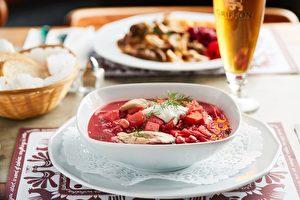 傳統波蘭甜菜湯(Stash Ca fé提供)