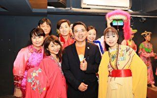 国际音乐家体验歌仔戏文化  身骑白马到台湾