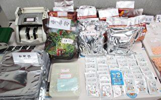 台、印警联手 破获藏89公斤安毒堆高机
