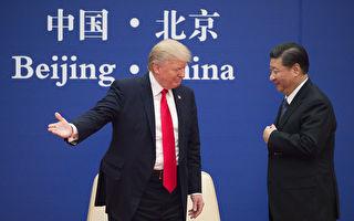 美國總統川普(左)與中國國家主席習近平。(AFP)
