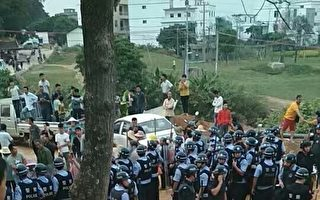 广西征地爆冲突 警察放烟雾弹棍棒殴村民
