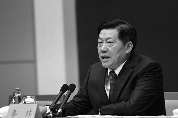 中共前宣传部副部长鲁炜被起诉