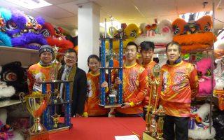 紐約聯合龍獅團 全美舞獅賽奪冠