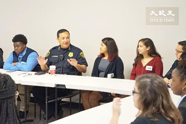 共同打擊霸凌 高中生專家警局三方會談