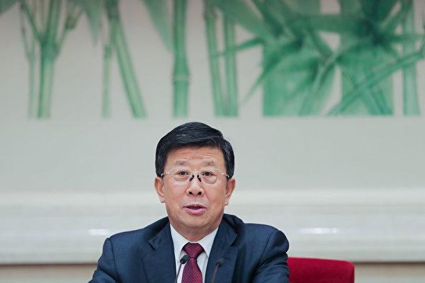 赵克志接任中共公安部党委书记