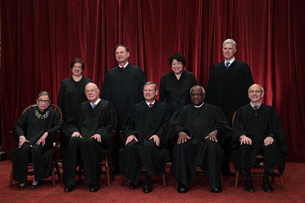 美国高院大法官人选 川普新增五人