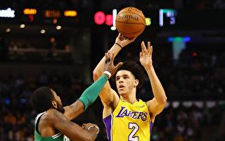 NBA湖人新秀榜眼超越詹姆斯  缔造最年轻大三元