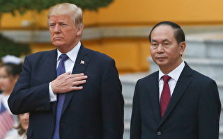 川普访越南 朝鲜和贸易问题是重中之重