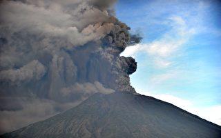 巴厘島火山又噴發 多航班取消影響數千旅客
