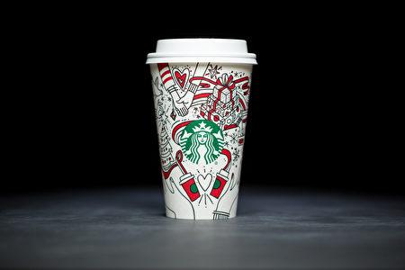 Starbucks让手捧红色纸杯在城市间匆匆穿梭的人们成了另一道圣诞节特有的风景线。 (图片由Starbucks提供 )