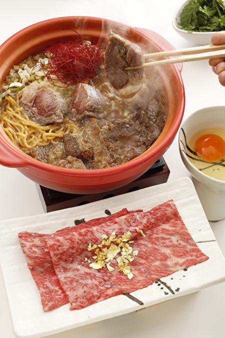 拉麵店「東京豚骨拉麺BANKARA」池袋本店提供極品拉麵「松阪牛拉麵」。(BANKARA)
