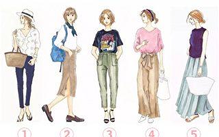 请选出你最喜欢的穿搭 看你身上最吸引人的气质是什么?