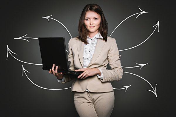 蘇姍女士的業務能力和創新意識,很受老闆丹尼爾的賞識和器重。示意圖。(pixabay)