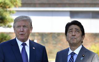 美日蜜月期过?川普批TPP称双边协定更好