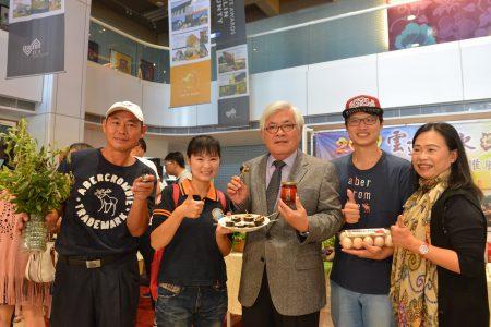 云林农产相当多元,寿司、罐头、精油都是农产品的加工制品。