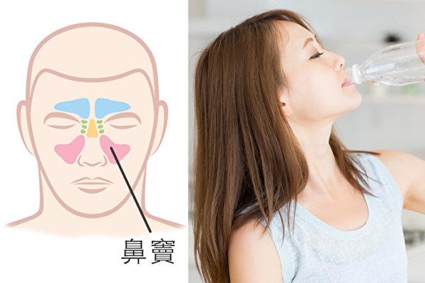 感冒、過敏都可能造成鼻涕橫流、鼻塞,一些天然方法可以緩解鼻塞。(Shutterstock)
