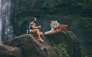 男子狩猎老虎 意外发现神秘石窟 竟是佛教壮观古迹