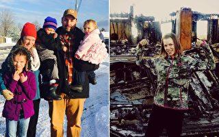 媽媽冒火救女兒落下駭人傷疤 萬幸獲救後感言讓人讚