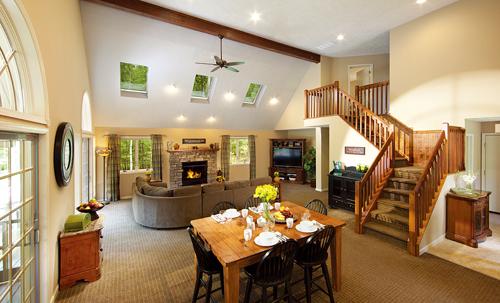 Woodloch的套票包括三頓可口的美味佳餚,寬敞的客房和多種活動設施。(woodloch提供)