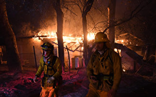 加州野火蔓延至沿海城市 更多居民连夜撤离