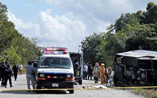 墨西哥旅游巴士翻车  加拿大人一死三伤