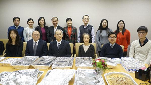 經文處邀華文記者及臺灣學者年終聚餐