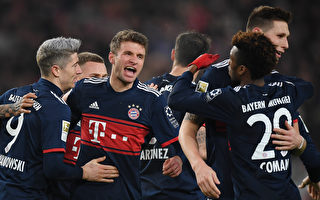 拜仁奪德甲半程冠軍 領先法蘭克福11分