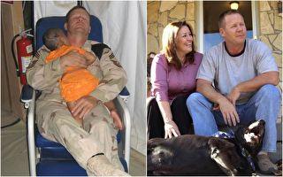 美国军士与伊拉克女孩 一张战争照片重建美国精神