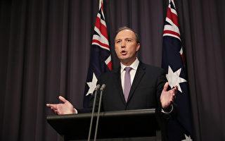 達頓兼管內務部 整合澳洲反恐反間諜等合作