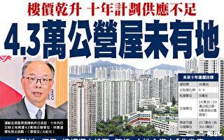 十年房屋供應欠缺 樓價續升 港人更難置業