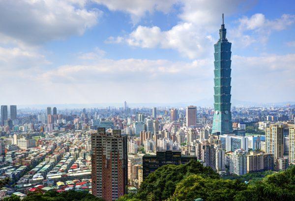 台灣台北101大樓。(大紀元資料庫)